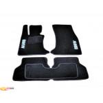 Ковры салона ворс BMW 5 (E60) (2003-2010) /Чёрные, кт. 5шт - AVTM