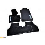 Ковры салона ворс BMW X3 (F25) (2010-) /Чёрные, кт. 5шт. - AVTM