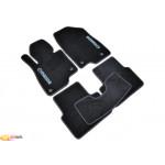 Ковры салона ворс Mazda 3 (2013-) /Чёрные, кт 5шт - AVTM