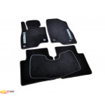 Ковры салона ворс Mazda 6 (2012-) /Чёрные, кт. 5шт - AVTM