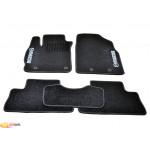 Ковры салона ворс Mazda CX-7 (2006-2012) /Чёрные, кт 5шт - AVTM
