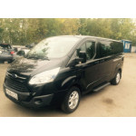 Ветровики для Ford Tourneo/Transit Custom 2012 накл.деф.окон Cobra-Tuning