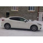 Ветровики для Mazda 3 III седан/хетчбек 2013 накл.деф.окон Cobra-Tuning