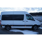 Ветровики для Mercedes Benz Sprinter (W906) 2006 накл.деф.окон Cobra-Tuning