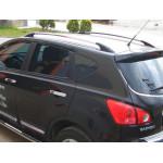 рейлинги Nissan Qashqai 2007-2014 /Хром /Abs/Крепление клей - CAN