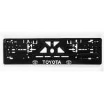 Рамка номерного знака Toyota (объемные буквы) - AVTM