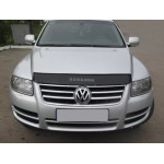 Дефлектор капота Volkswagen Touareg 2003-2010 - Vip Tuning