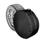 """Чохол запасного колеса R14-15 (64см * 21см) М, чорний """"Поліестер"""" - AVTM"""