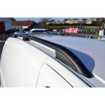 рейлинги  Fiat Fiorino/Citroen Nemo/Peugeot Bipper (2007-) /тип Crown,Черные - Erkul
