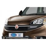 Fiat Doblo (2014-) Накладки на решетку радиатора 2шт - OMSALINE