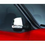 Fiat Doblo 2010- Накладки на зеркала 2шт - Carmos