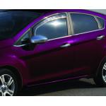 Ford Fiesta 2008-2017 Молдинги стекол нижние 8шт - Carmos
