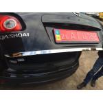 Nissan Qashqai 2006-2014 Кромка багажника - Carmos