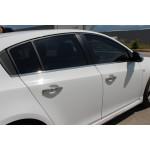 Chevrolet Cruze хетчбек 2011- Молдинг стекол 4шт - Carmos
