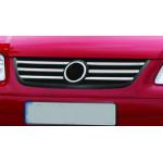 VW Touran 2006-2010 Накладки на решетку радиатора 6шт - Carmos