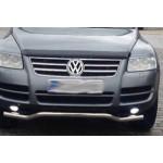 VW Touareg 2007-2010 Накладки на решетку радиатора 4шт - Carmos
