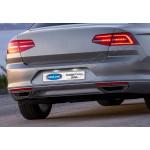VW Passat B8 (2014-) Окантовка на глушитель R-Line (нерж.) 2 шт. - OMSALINE