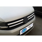 VW Caddy (2015-) Накладки на решетку радиатора 2шт - OMSALINE