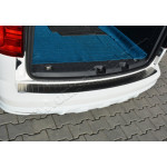 VW Caddy (2015-) Накладк на задний бампер- Матовая - OMSALINE