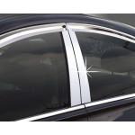 Hyundai Santa Fe 2012- Накладки на стойки дверей 4шт - CLOVER