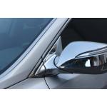 Hyundai Santa Fe 2012- Накладка на уголок под зеркало 6шт - CLOVER