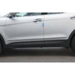 Hyundai Santa Fe 2012- Нижний молдинг двери 4шт - CLOVER