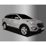 Hyundai Santa Fe Grand 2013- молдинги дверные 4шт - CLOVER