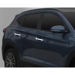 Hyundai Tucson 2015- Накладки на ручки - Clover