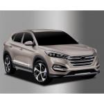 Hyundai Tucson 2015- Нижний молдинг двери - Clover