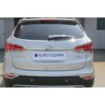 Hyundai Santa Fe 2012- Окантовка парктроника 6шт - CLOVER