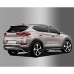 Hyundai Tucson 2015- Окантовка парктроника - Clover