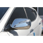 Hyundai Santa Fe 2012- Накладки на зеркала с повторителем 2шт - CLOVER