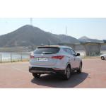 Hyundai Santa Fe 2012- Накладки на стопы 4шт - CLOVER