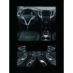 Hyundai Santa Fe 2012-2015 Накладки в салон 21шт - CLOVER
