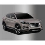 Hyundai Tucson 2015- Накладка решетки радиатора - Clover