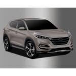 Hyundai Tucson 2015- Окантовка фар 2шт - Clover