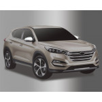 Hyundai Tucson 2015- Накладки на зеркала с повторителем - Clover