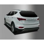 Hyundai Santa Fe 2015- Накладки на стопы 2шт - CLOVER