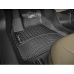 Ковры салона  Mazda 3 2013- с бортиком, задние, черные EUR - Weathertech