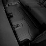 Ковры салона  Tesla Model X 2017-c бортиком 3 ряд, черные - Weathertech