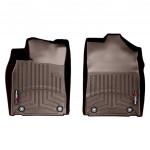 Ковры салона  Lexus ES 2013- с бортиком какао, передние - Weathertech