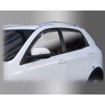 Дефлекторы окон  SsangYong Korando 2011-, кт 4шт - Clover