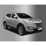 Hyundai Santa Fe 2012- Дефлектор капота 3шт - Clover