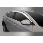 Hyundai Tucson 2015- Дефлектора окон хром 8шт - Clover