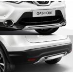 Nissan Qashqai (2014-) / Передняя и задняя накладки OEM пластик - AVTM