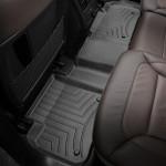 Ковры салона  Mercedes-Benz GL/ML classe 2012- с бортиком черные, задние - Weathertech