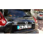 Nissan Juke 2010- Планка над номером - Carmos