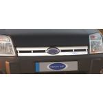 Ford Tourneo Connet 2006-2009 Накладка на решетку радиатора - Carmos