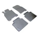 Ковры салона Infiniti М25/Q50 (Y51) (10-) полиуретан комплект - NorPlast