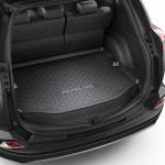 Ковер багажника  Toyota Rav4 2012-, полноразм колесо - оригинал